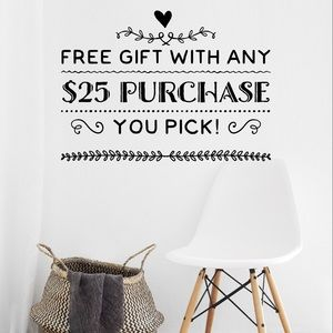 ✨ FREE ✨ Gift with Any $25 Purchase!
